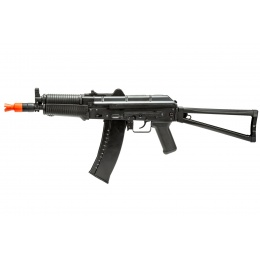 WellFire CO2 Powered AK74 Gas Blowback Airsoft Rifle w/ Skeleton Stock (Color: Black)