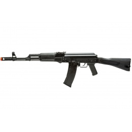 WellFire CO2 Powered AK74 Gas Blowback Airsoft Rifle w/ Folding Stock (Color: Black)