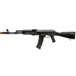 WellFire CO2 Powered AK74 Gas Blowback Airsoft Rifle w/ Fixed Stock (Color: Black)