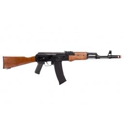 Well G74DC AK74 CO2 GBB Rifle (Wood)