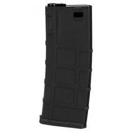 Lonex 200rd Mid Capacity M4/M16 Polymer Airsoft Magazine [6 Pack] - BLACK