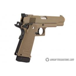 Golden Eagle 3304 OPS-MRP Hi-Capa 5.1 Gas Blowback Airsoft Pistol - DARK EARTH