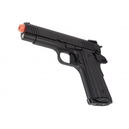 Golden Eagle 3329 OPS-Tactical 1911 Hi-Capa Gas Blowback Airsoft Pistol - BLACK