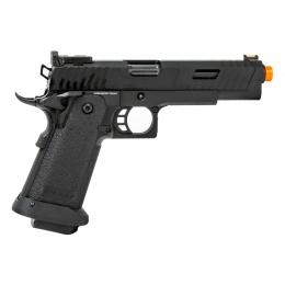Golden Eagle 3345 OTS .45 Hi-Capa Gas Blowback Pistol w/ Serrated Slide (Color: Black)