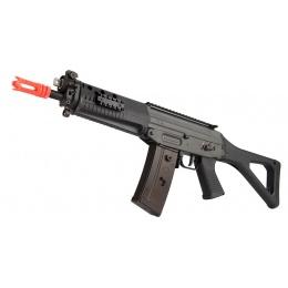 GHK SG553 Gas Blowback Airsoft Rifle - BLACK
