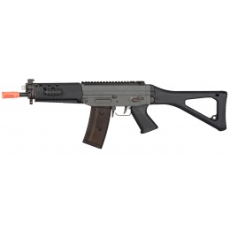 GHK SG553 Gas Blowback Airsoft Rifle - BLACK