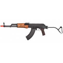 GHK AK GIMS Gas Blowback AKMS Airsoft AEG Rifle - WOOD