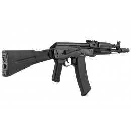 GHK AK74 GK105 Steel Receiver Polymer Gas Blowback Airsoft Rifle - BLACK