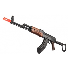 GHK AK GKMS Gas Blowback AKMS Airsoft Rifle - WOOD
