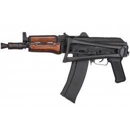 GHK AK GKS74U Gas Blowback AK74U Airsoft Rifle - WOOD