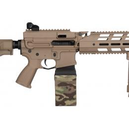 G&G CM16 LMG Airsoft Light Machine Gun AEG - TAN