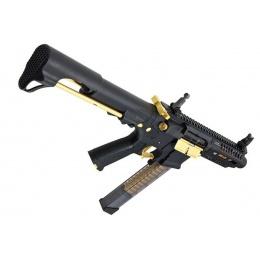 G&G CM16 ARP9 Stealth Gold PDW AEG (Color: Black / Gold)