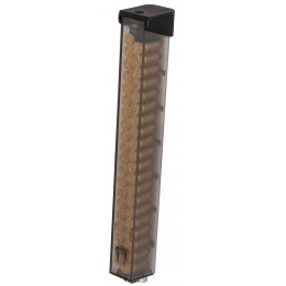 G&G 60rd ARP 9 Mid Capacity Airsoft Magazine w/ Simulated 9mm Rounds