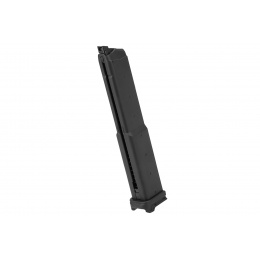 G&G GTP-9 50rd Green Gas Pistol Magazine (Black)