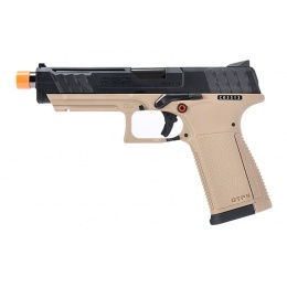 G&G GTP-9 Gas Blowback GBB Airsoft Pistol - TAN / BLACK
