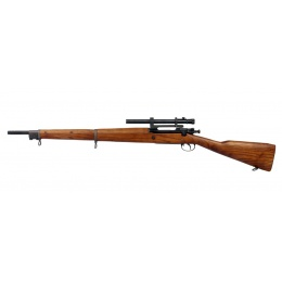 G&G Combat Green Gas GM1903 Metal A4 Airsoft Rifle - WOOD