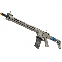 G&G Cobalt Kinetics Licensed BAMF Team AR15 Airsoft AEG Rifle - GRAY