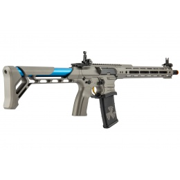 G&G Cobalt Kinetics Licensed BAMF Team AR15 Airsoft AEG Rifle - GRAY