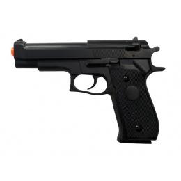 HFC HA-106B Premium Spring Airsoft Pistol - BLACK