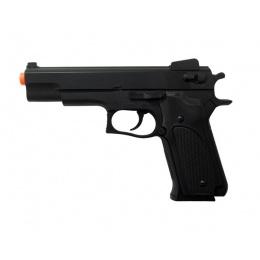 HFC HA-107B Premium Spring Airsoft Pistol - BLACK
