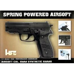 HFC MK25 Premium Spring Airsoft Pistol [Version 1] - BLACK