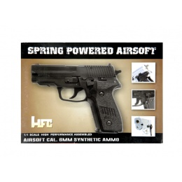 HFC MK25 Premium Spring Airsoft Pistol [Version 2] - BLACK