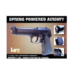 HFC M9 Premium Spring Airsoft Pistol - BLACK