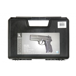 HFC HG-160 Gas Blowback Airsoft Pistol - BLACK