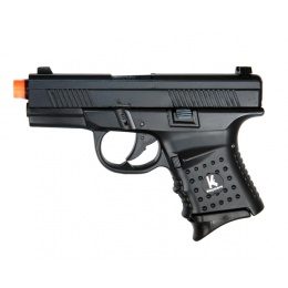 HFC HG-165 Compact Airsoft Gas Blowback Pistol - BLACK