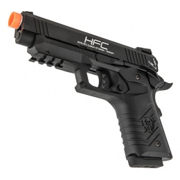 HFC HG-171 Tactical 1911 Gas Blowback Pistol - BLACK