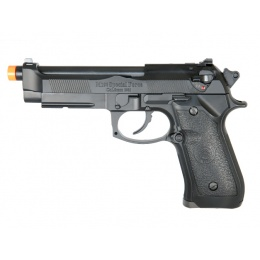 HFC M9 Gas Blowback Semi-Auto Airsoft Pistol - BLACK