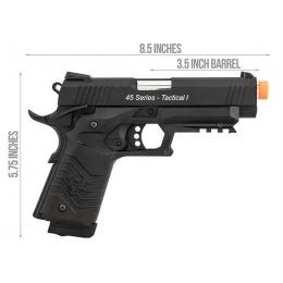 HFC HG-171 Tactical 1911 CO2 Blowback Pistol - BLACK
