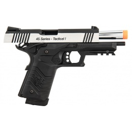 HFC HG-171 Tactical 1911 CO2 Blowback Pistol - BLACK/SILVER