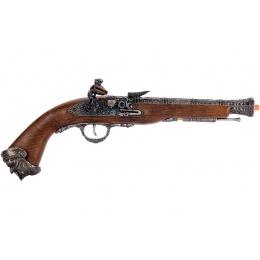HFC Flintlock Pirate CO2 Airsoft Pistol - SILVER