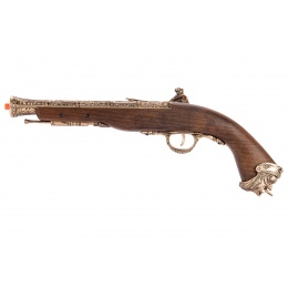 HFC Flintlock Pirate CO2 Airsoft Pistol - GOLD