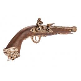 HFC Flintlock Pirate CO2 Airsoft Pistol - GOLD