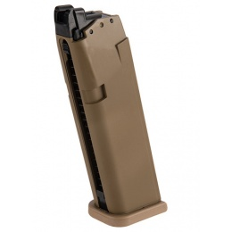 Elite Force 20rd Magazine for Glock 19X GEN5 Airsoft GBB Pistol - TAN