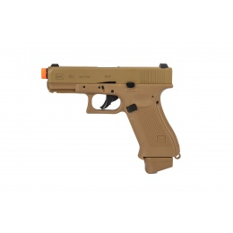 Elite Force Fully Licensed Glock 19x Gas Half-Blowback CO2 Airsoft Pistol (Tan)