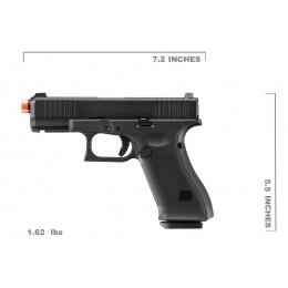 Umarex Elite Force Glock 45 Gen 5 Gas Blowback Airsoft Pistol (Color: Black)