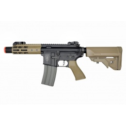 Elite Force M4 CQC Competition AEG Rifle (Black/Tan)