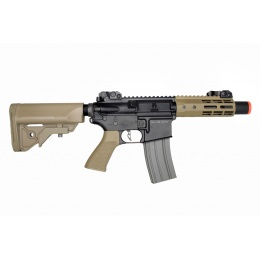 Elite Force M4 CQC Competition AEG Rifle (Black/Tan)