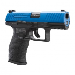 Umarex T4E Walther PPQ LE .43 Cal Paintball Pistol with Extra Magazine - BLACK/BLUE