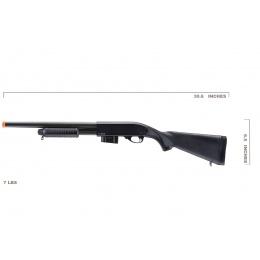 UK Arms 870 Spring Airsoft Shotgun (Black)
