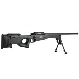 AGM Airsoft MK96 Bolt Action Sniper Rifle w/ Bipod (Color: Black)
