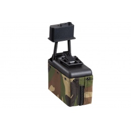 A&K Electric Winding 1500 Round Box Magazine for Airsoft M249 Series AEG