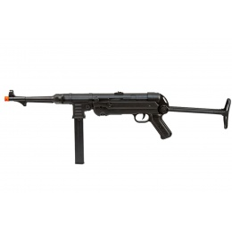 AGM M40P WWII Full Metal Machine Pistol AEG (Color: Black / Faux Wood)