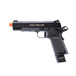 Echo1 Wolfsbane M1911 Gas Blowback Pistol (Black)