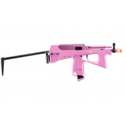 Modify Tech PP-2k Gas Blowback Airsoft SMG (Pink)