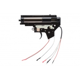 JG Full Metal Version 2 Rear Wired Airsoft AEG Gearbox