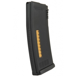 KWA 30/120rd MS120C Mid Capacity Airsoft Rifle Magazine - BLACK